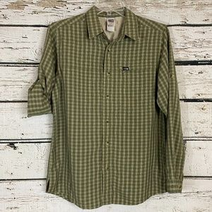 NORTH FACE Men's Hiking Plaid Shirt
